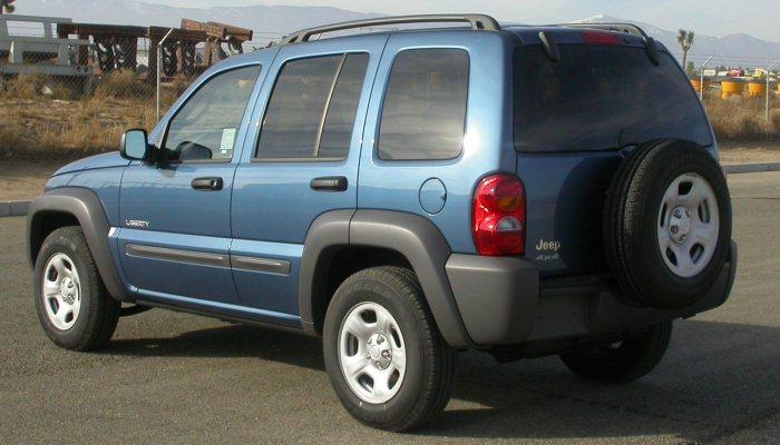 Jeep Liberty del 2004