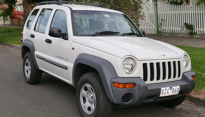 Jeep Cherokee (KJ) 2001 en Australia