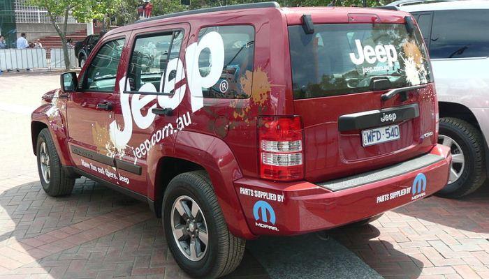 Jeep Cherokee (KK) 2008