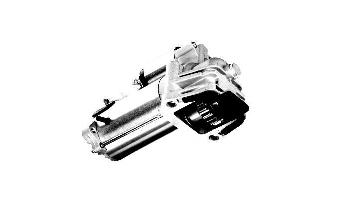 Sistema del motor de arranque averiado