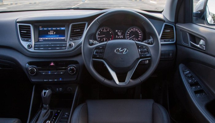 Hyundai Tucson 2016 en mal estado