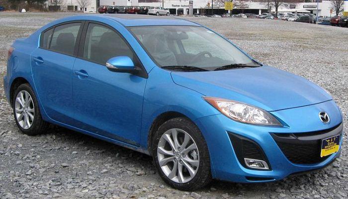 Reemplazar El Filtro Del Aire En Un Vehículo Mazda 3