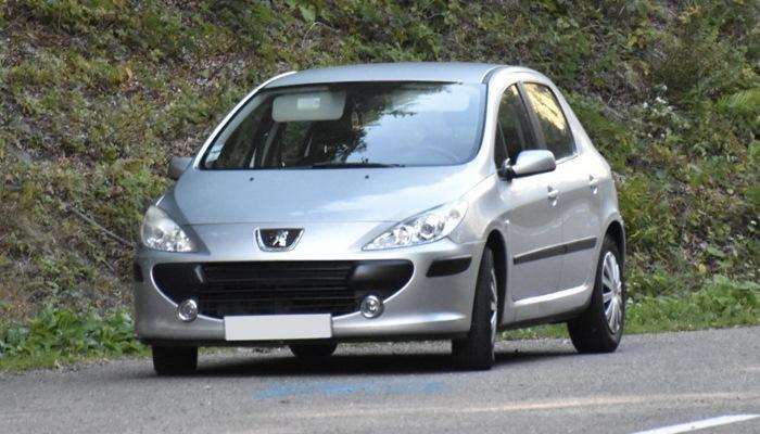 Filtro De Partículas Obstruido En Un Peugeot 307