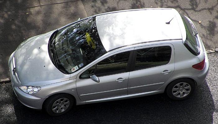 Filtro De Partículas Tapado En Un Peugeot 307